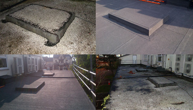 Domestic Roofing Before and After